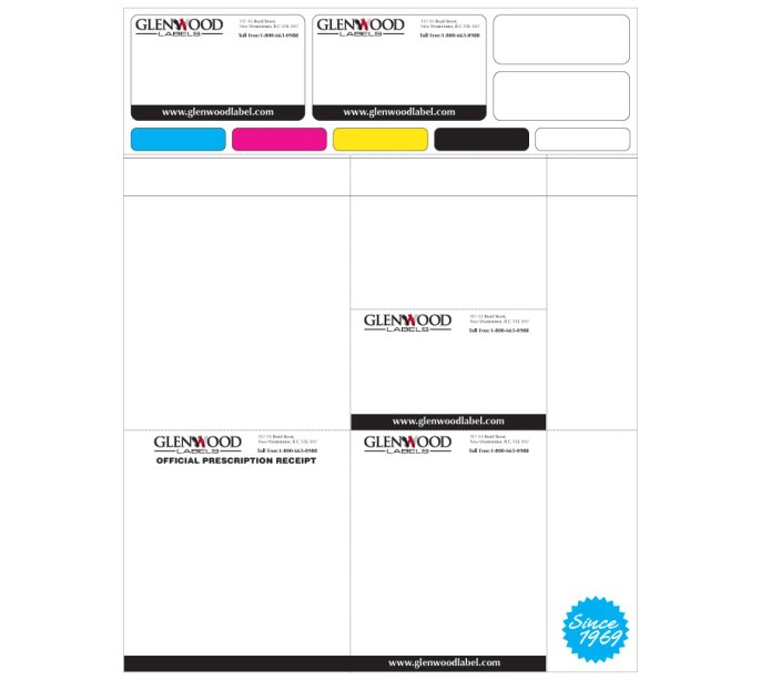 Dual Web Design Label 1 by Glenwood Label Printing & Packaging